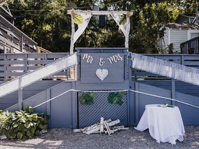 Kyle and Serena's wedding in Roseneath, Ontario 6