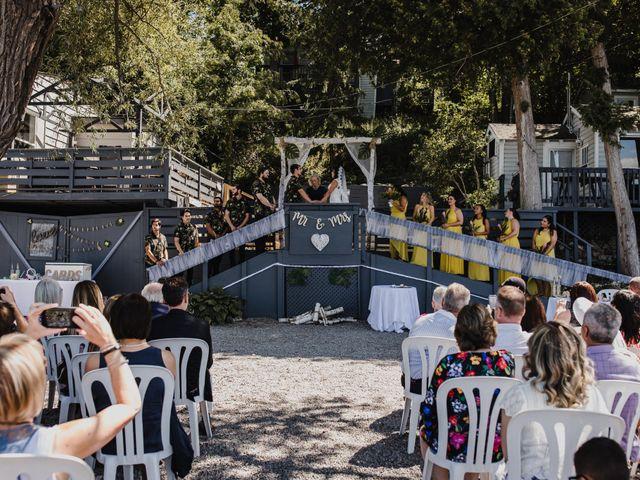 Kyle and Serena's wedding in Roseneath, Ontario 30