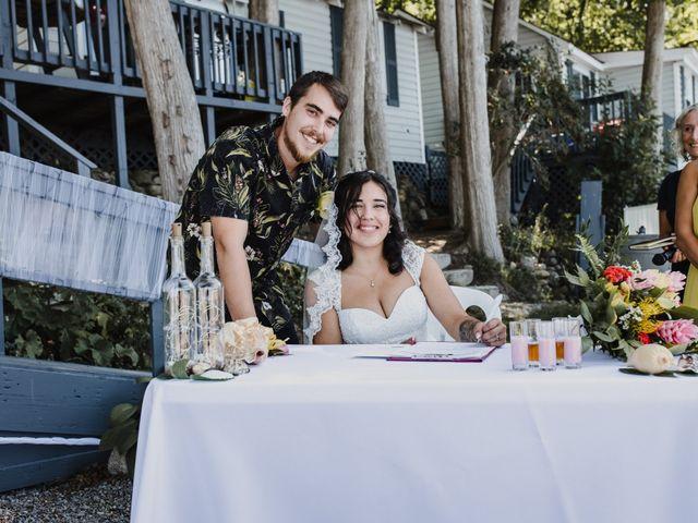 Kyle and Serena's wedding in Roseneath, Ontario 32