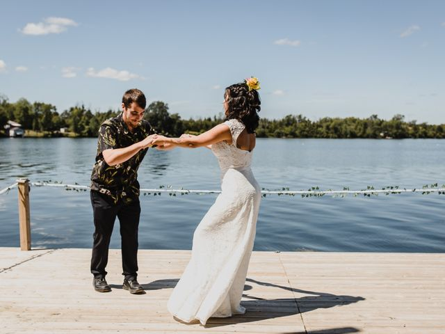 Kyle and Serena's wedding in Roseneath, Ontario 34