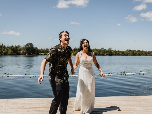 Kyle and Serena's wedding in Roseneath, Ontario 36