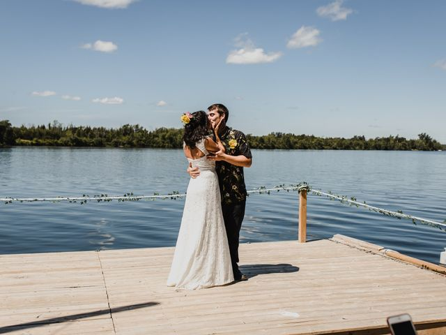 Kyle and Serena's wedding in Roseneath, Ontario 38