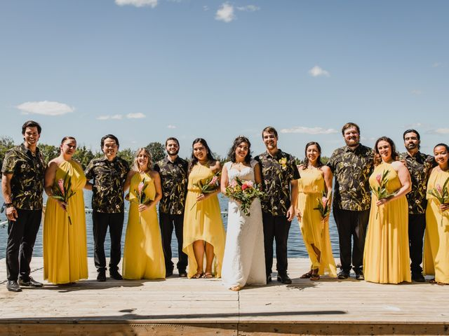 Kyle and Serena's wedding in Roseneath, Ontario 1