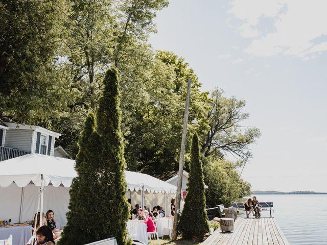 Kyle and Serena's wedding in Roseneath, Ontario 46
