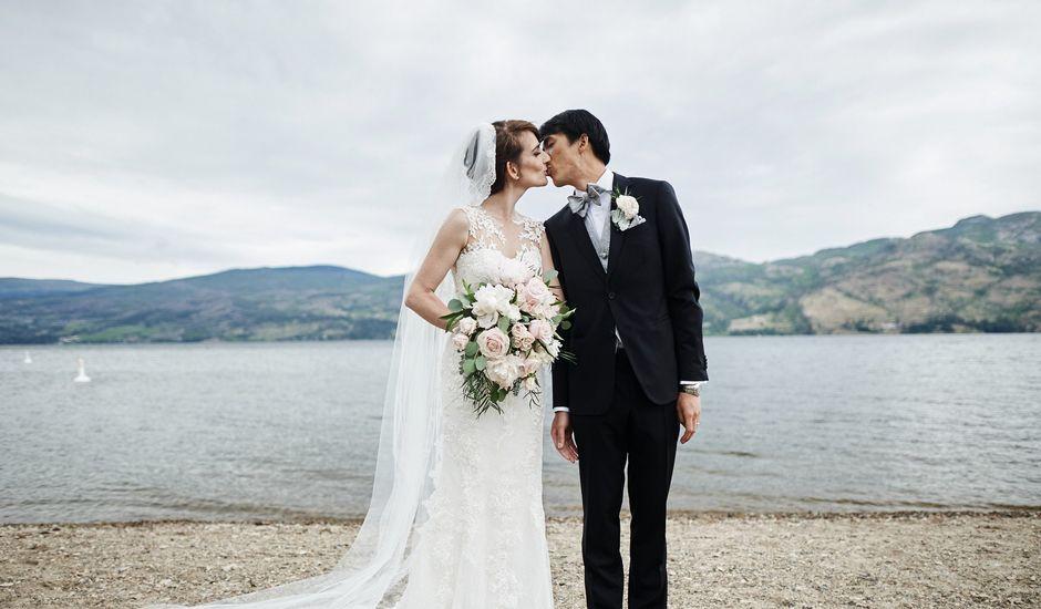 Justin and Heather's wedding in West Kelowna, British Columbia