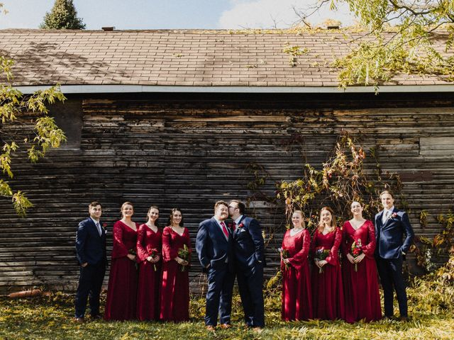 Jean Luc and Alex's wedding in Lindsay, Ontario 1