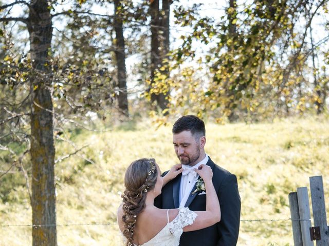 Jeremy and Shayla's wedding in Ponoka, Alberta 13