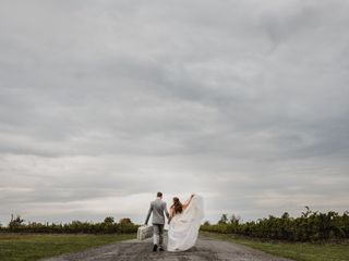 The wedding of Deborah and Travis