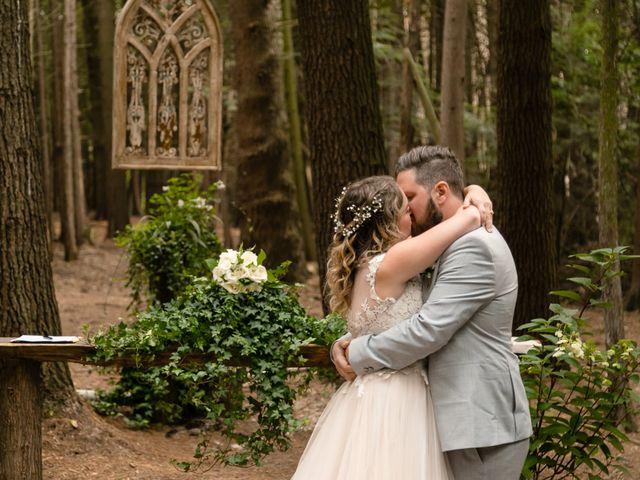 The wedding of Cori and Aaron