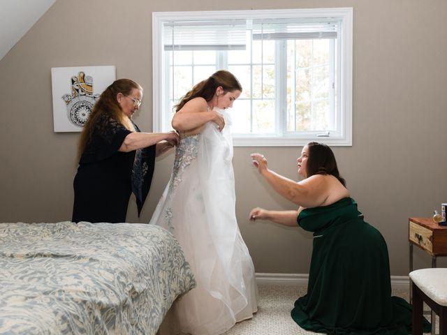 Travis and Deborah's wedding in Prince Edward County, Ontario 11