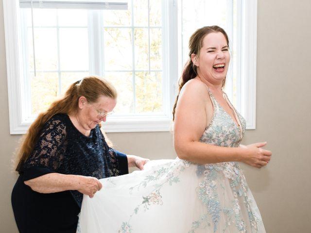 Travis and Deborah's wedding in Prince Edward County, Ontario 12