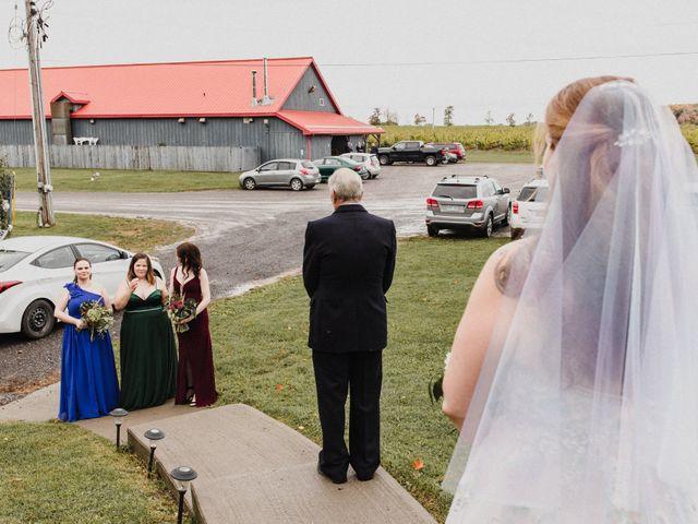 Travis and Deborah's wedding in Prince Edward County, Ontario 15