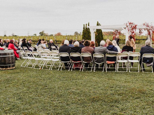 Travis and Deborah's wedding in Prince Edward County, Ontario 17