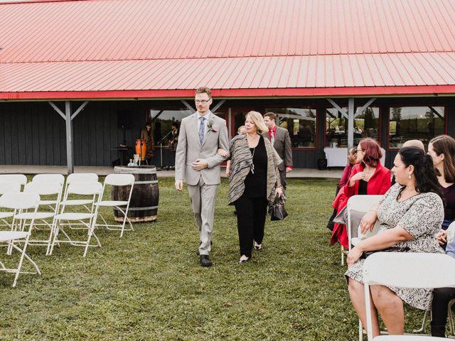 Travis and Deborah's wedding in Prince Edward County, Ontario 18
