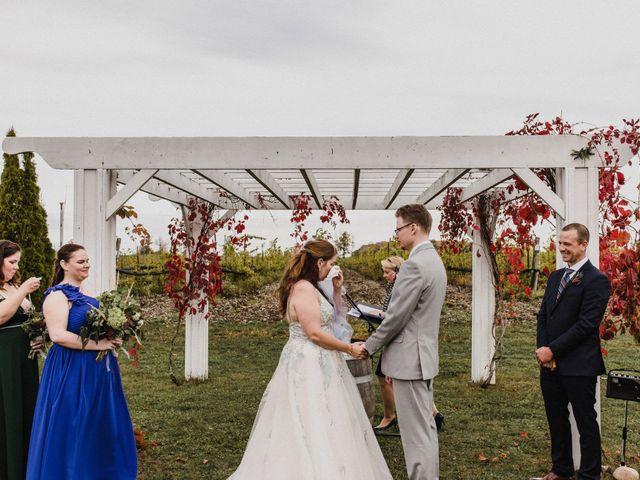 Travis and Deborah's wedding in Prince Edward County, Ontario 25