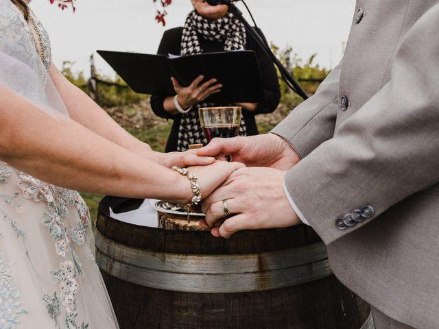 Travis and Deborah's wedding in Prince Edward County, Ontario 26