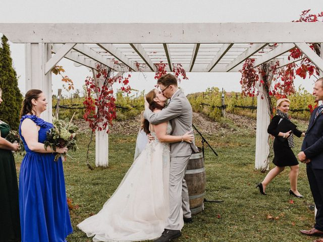 Travis and Deborah's wedding in Prince Edward County, Ontario 1