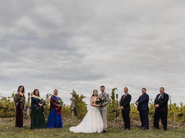 Travis and Deborah's wedding in Prince Edward County, Ontario 30