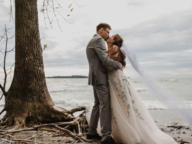 Travis and Deborah's wedding in Prince Edward County, Ontario 2