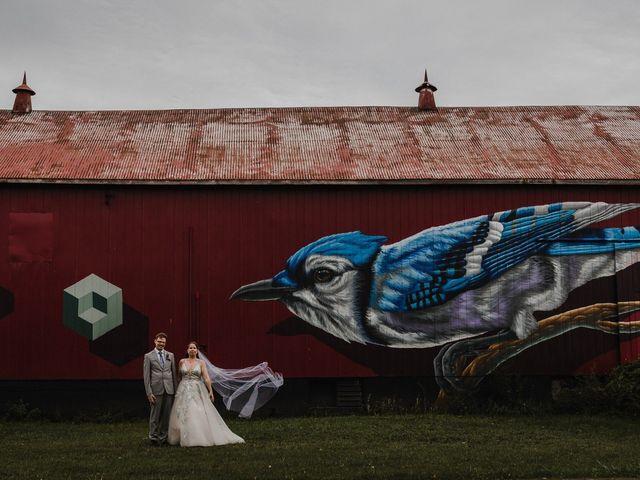 Travis and Deborah's wedding in Prince Edward County, Ontario 39