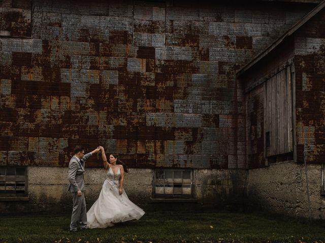 Travis and Deborah's wedding in Prince Edward County, Ontario 40