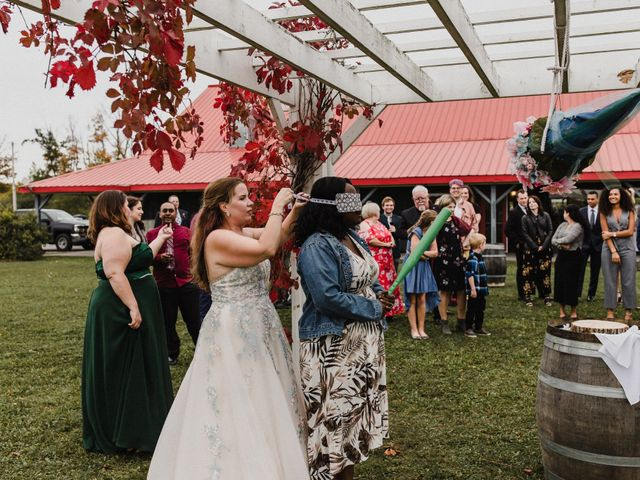 Travis and Deborah's wedding in Prince Edward County, Ontario 59