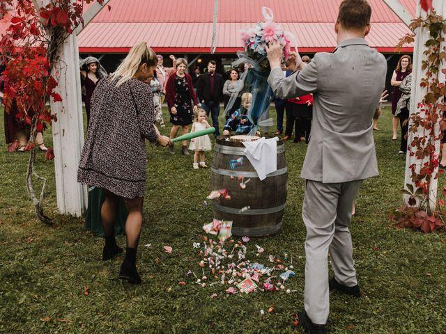 Travis and Deborah's wedding in Prince Edward County, Ontario 61