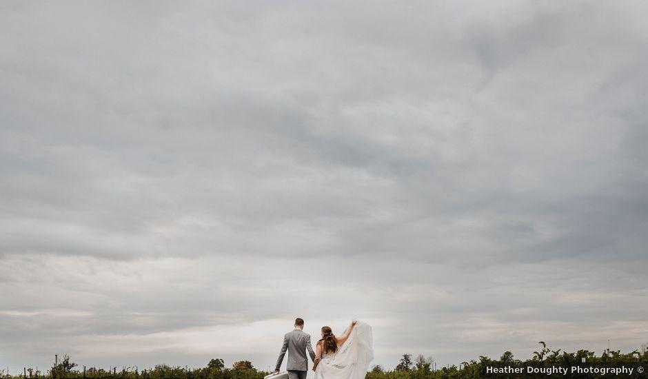 Travis and Deborah's wedding in Prince Edward County, Ontario