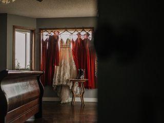 The wedding of Dalia and Travis  2