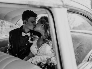 The wedding of Dalia and Travis