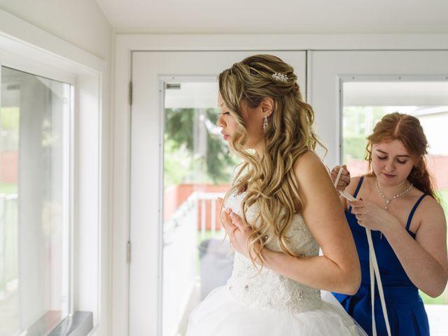 Denise and Polina's wedding in Coquitlam, British Columbia 2