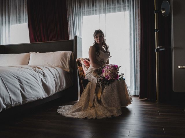 Andrew and Kirsten's wedding in Toronto, Ontario 8