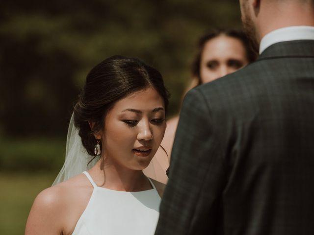 Evan and Seika's wedding in Red Deer, Alberta 32