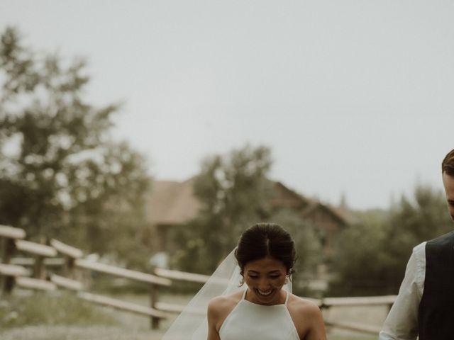 Evan and Seika's wedding in Red Deer, Alberta 50