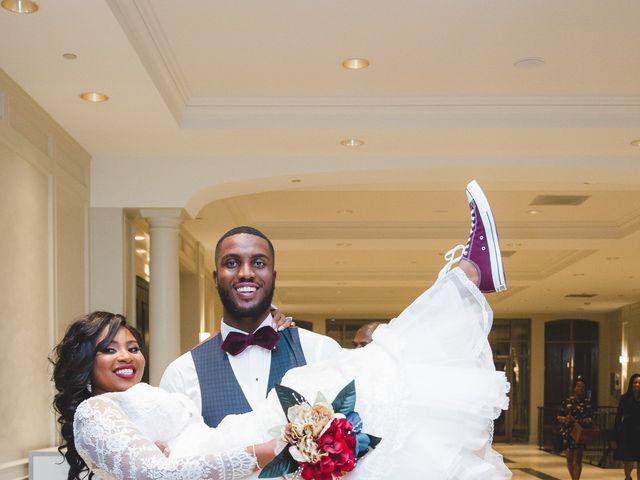 The wedding of Kimarie and Joseph