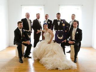 The wedding of Teresa and Gethin