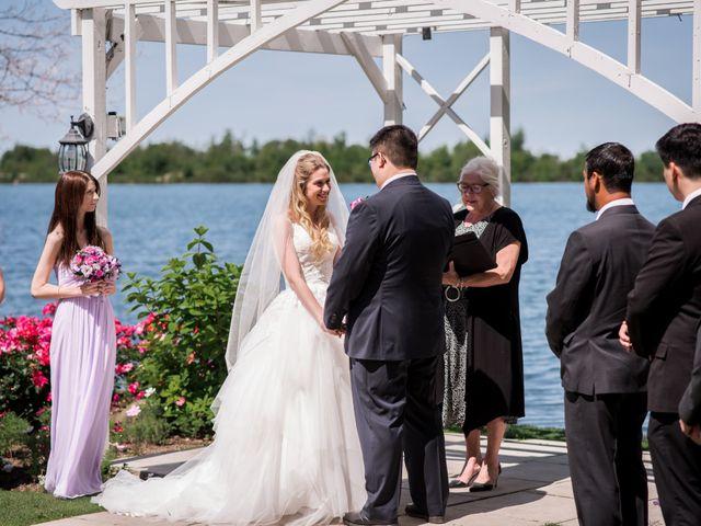 The wedding of Emma and Richard