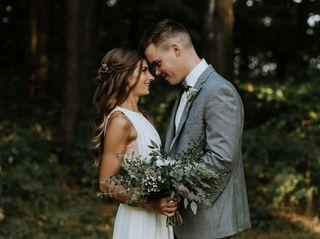 The wedding of Taylor and Sarah