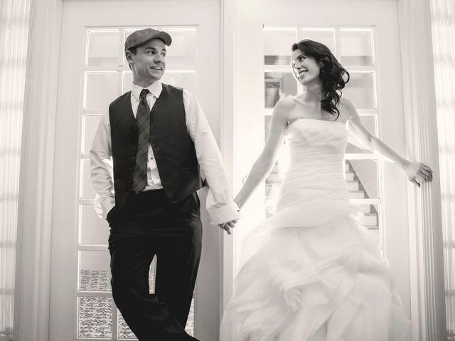 The wedding of Ashley and Jordan