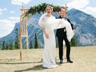 The wedding of Bronwen and Rob