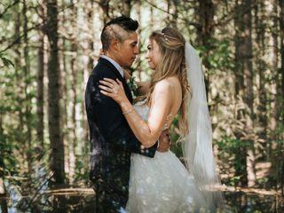 The wedding of Alysha and Jon