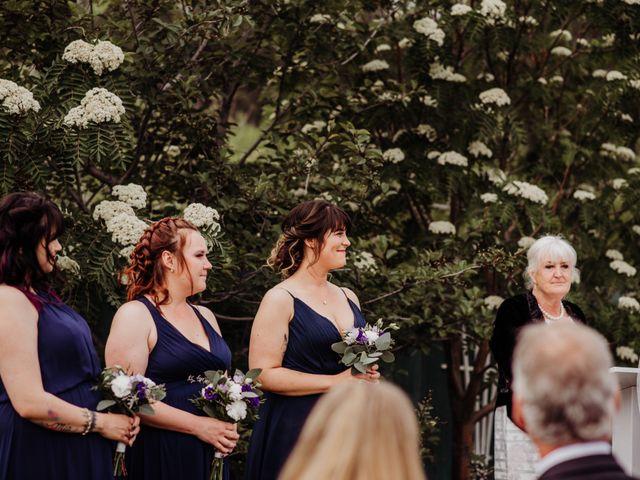 Josh and Jenna's wedding in Whitehorse, Yukon Territory 1