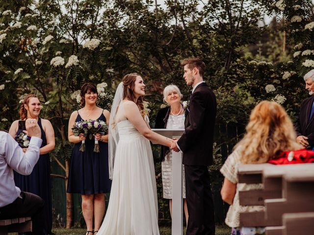 Josh and Jenna's wedding in Whitehorse, Yukon Territory 2