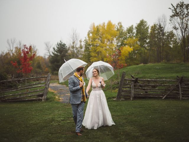 Tyler and Cate's wedding in Carleton Place, Ontario 1