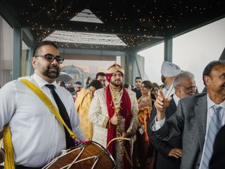 The wedding of Sharan and Nav 1