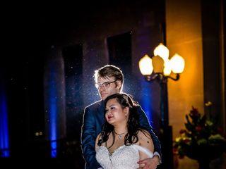 The wedding of Elizabeth and Craig