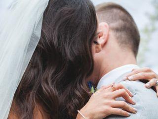 The wedding of Christine and Sasha