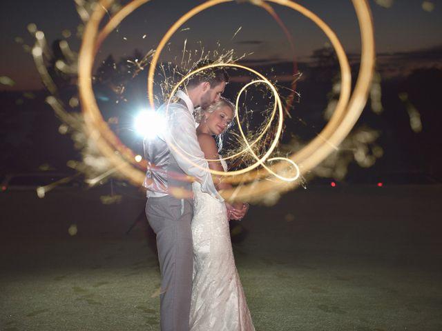 The wedding of Katrina and Jared