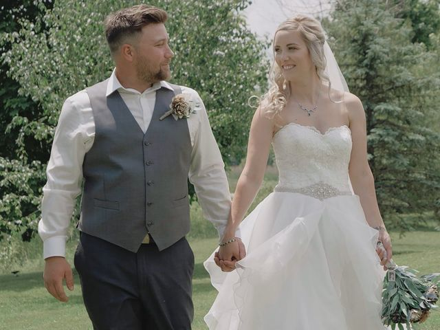 Liz and Brandon's wedding in Guelph, Ontario 2