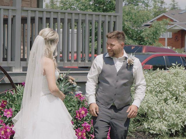Liz and Brandon's wedding in Guelph, Ontario 5